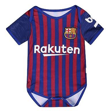 Amazon.com: Barcelona Baby Suit FC Home Cotton - Body de ...