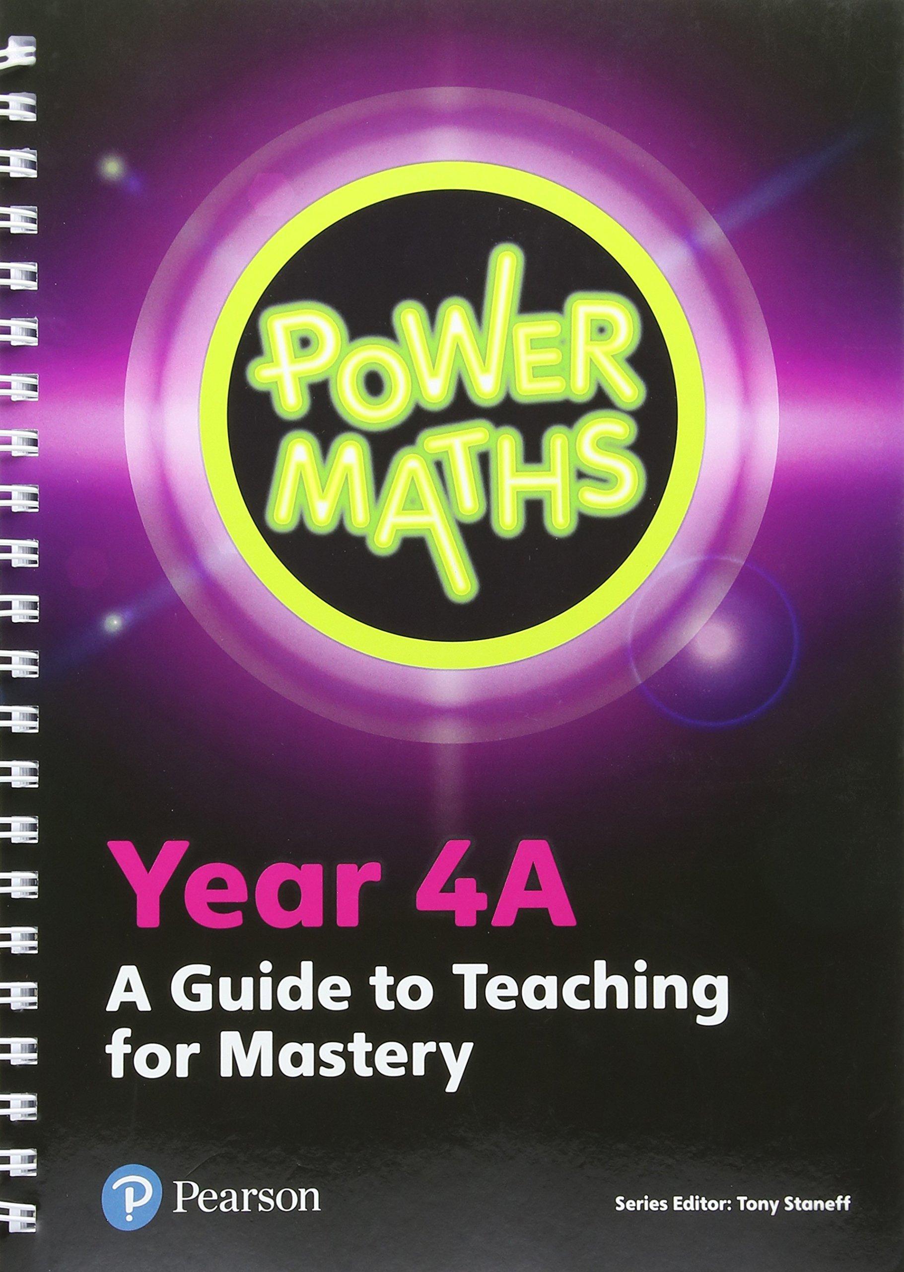 9301a59e4 Power Maths Year 4 Teacher Guide 4A (Power Maths Print) Spiral-bound – 5  Jun 2018