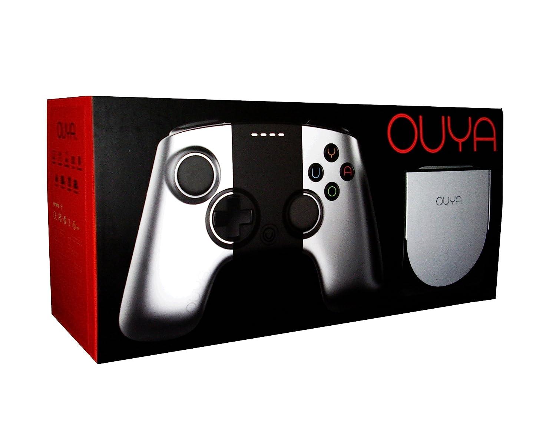 OUYA Game Console and Controller - Silver (OUYA1) 1GB RAM 8GB Storage