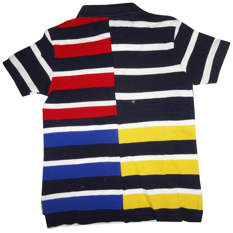 Polo Ralph Lauren Toddler Boys 2T-4T Pennant Mesh Polo Shirt-French Navy
