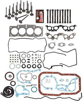 90-96 Toyota Camry Celica MR2 2.2L DOHC 16v 5SFE Head Gasket Set Bolt Kit Fits