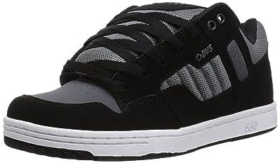190af970dc02e DVS Men s Enduro 125 Skate Shoe Black Charcoal Nubuck 7 Medium US