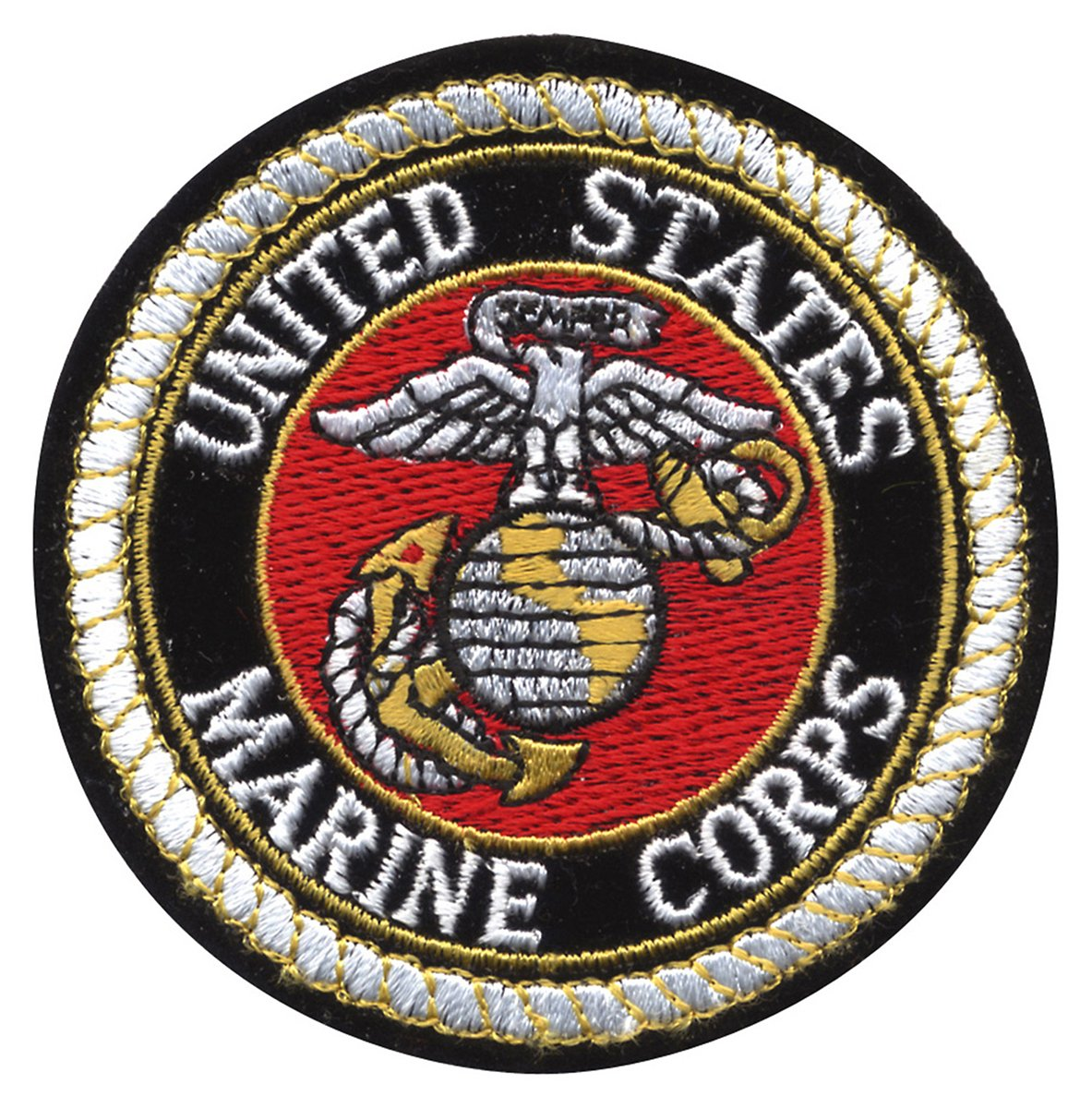 Rothco Deluxe USMC Round Patch, 3'' 3'' Pro-Motion Distributing - Direct 1649