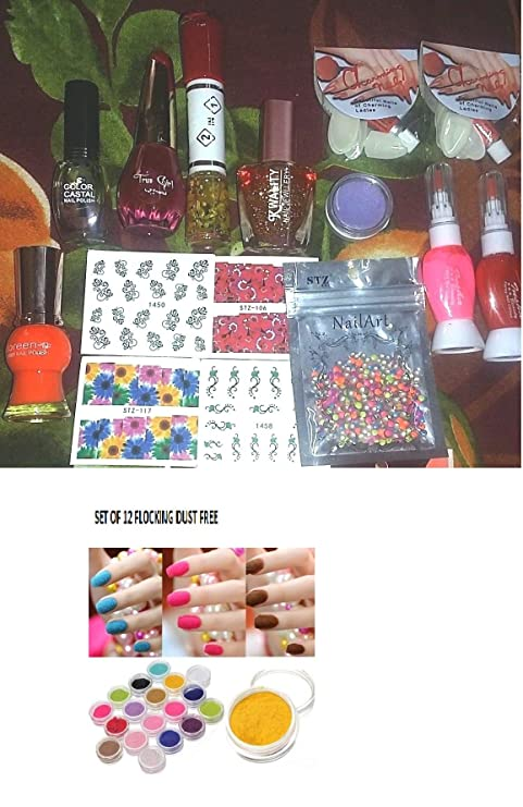 Combo Kit of Nail Art / Paint #1. Complete set for Birthday gift ...