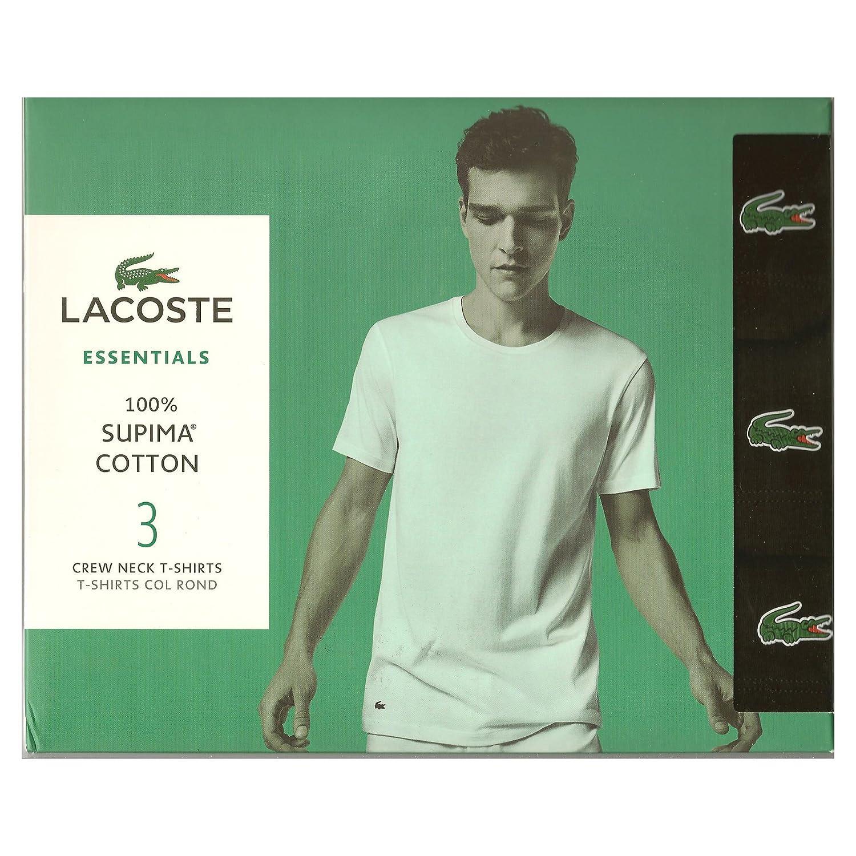 42b5920d69ca6 Lacoste Essentials Mens V Neck T Shirt