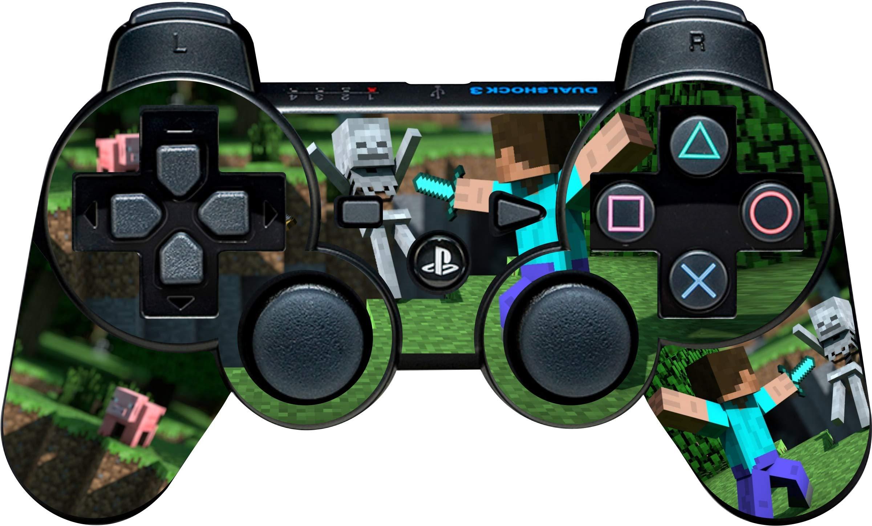 Amazon com: Mineshaft PS3 Controller Skin: Video Games