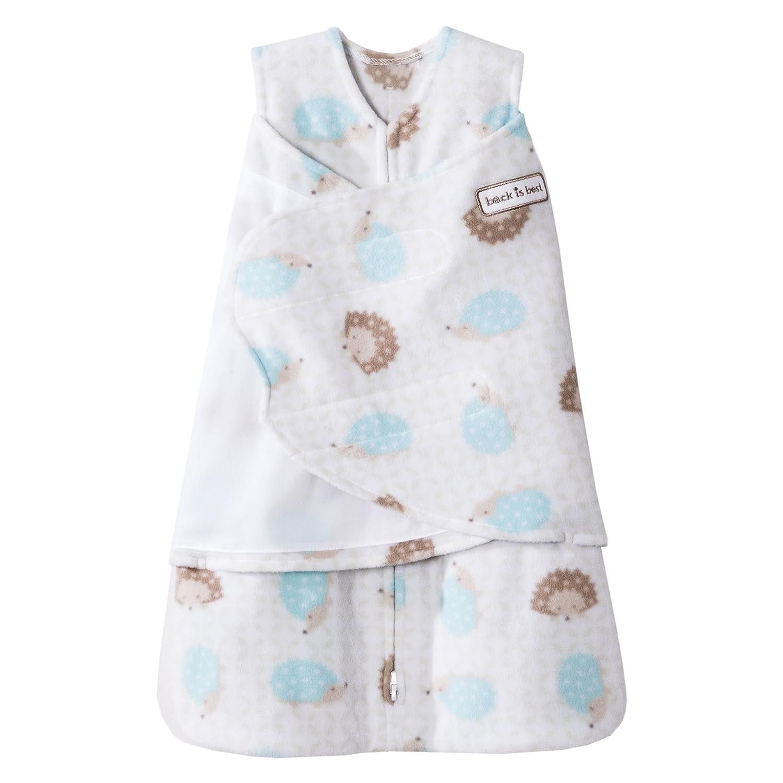 Cream HALO SleepSack Micro-Fleece Swaddle Newborn