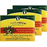 Organix South Maximum Strength Neem Soap Bar 4 oz - Three (3) bars