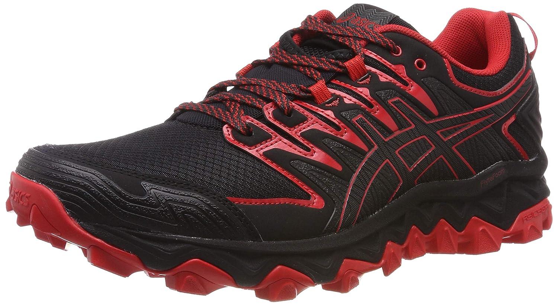 MultiCouleure (noir Classic rouge 001) 46 EU ASICS Gel-Fujitrabuco 7, Chaussures de FonctionneHommest Compétition Homme