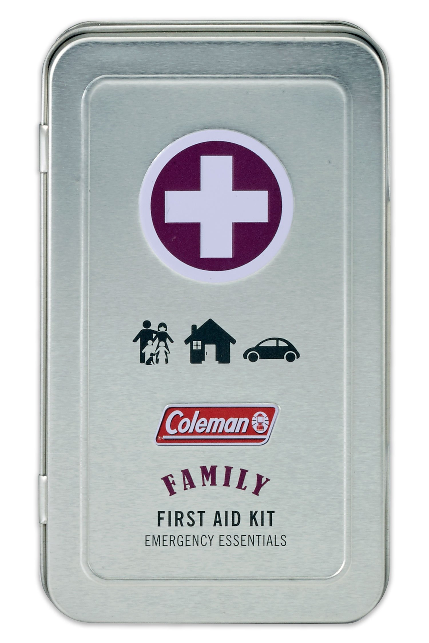 Coleman 82 Piece Family First Aid Kit - for camping, travel or sports bag