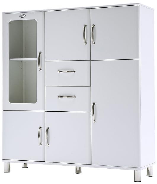 Tenzo 5238-005 Malibu - Designer Schrank 159 x 144 x 44 cm, MDF ...