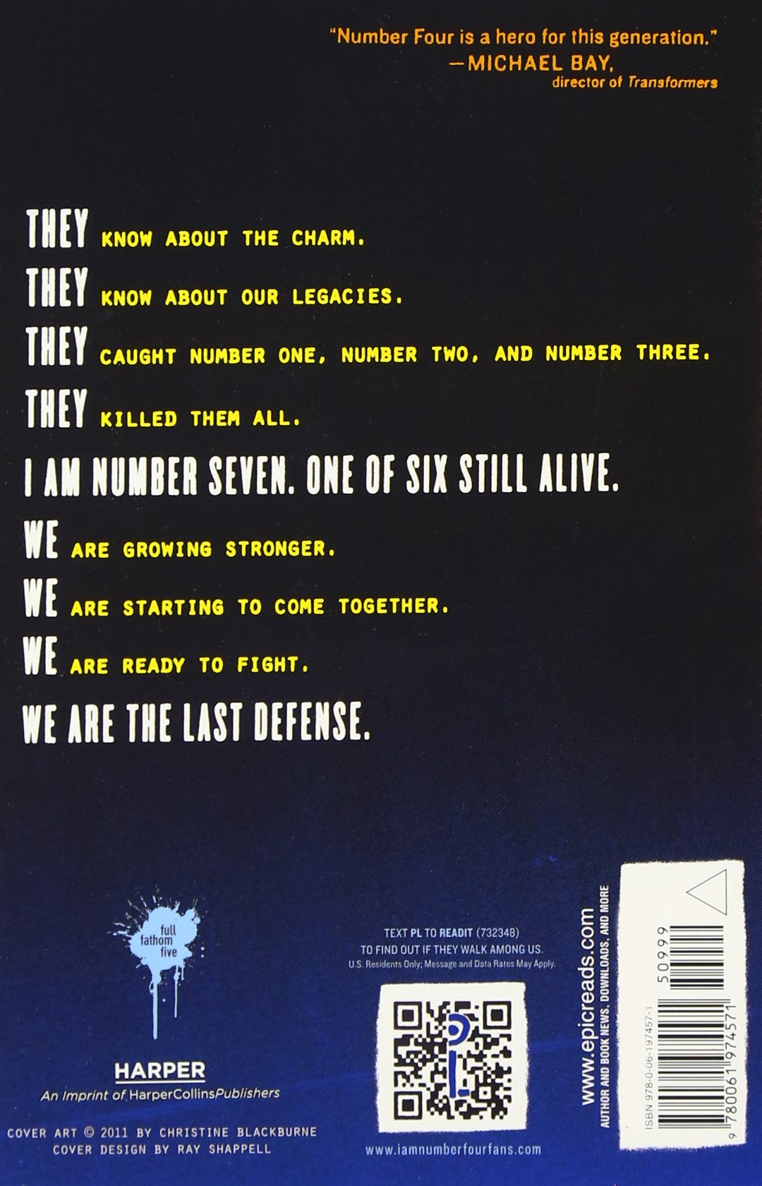 Amazon: The Power Of Six (lorien Legacies, Book 2) (8601411134937): Pittacus  Lore: Books