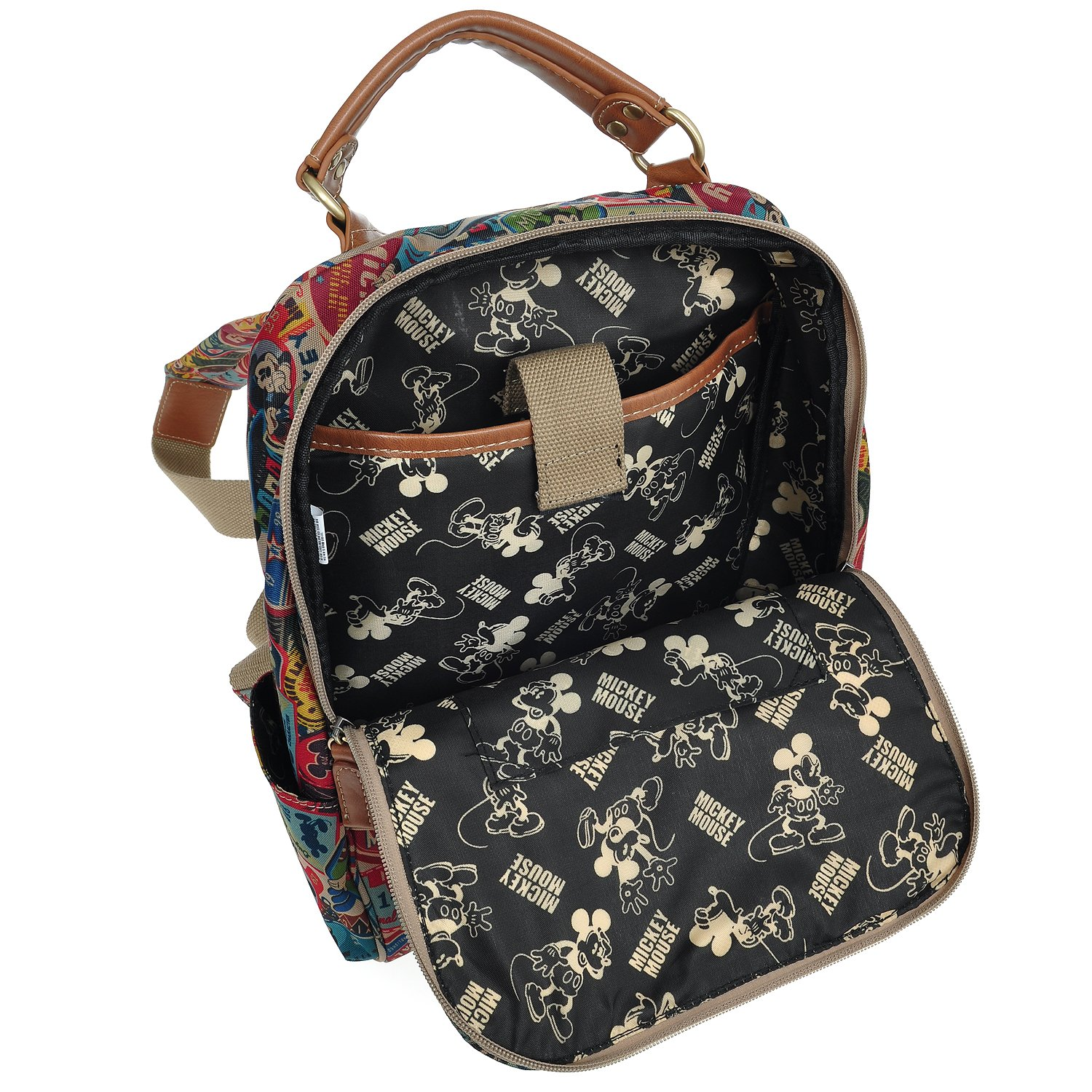 Disney A31.Disney Mickey Mouse Women Small Daily Backpack Casual Travel Bag