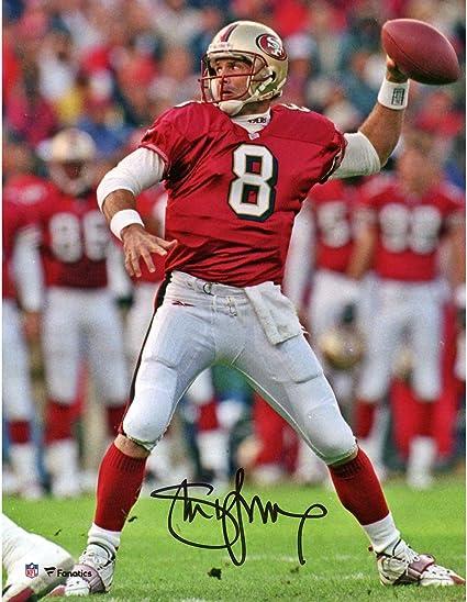 11d871493 Steve Young San Francisco 49ers Autographed 8