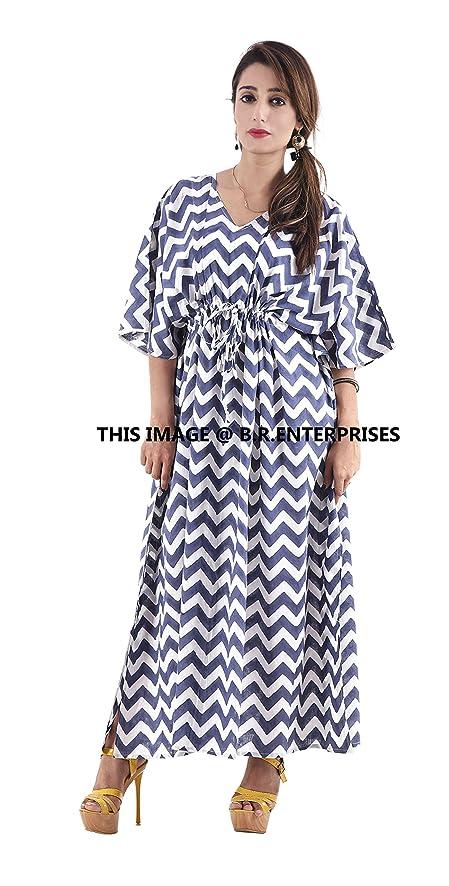 Amazon.com: INDIAN SPARROW Cotton Women Fashion Kimono Bathrobe ...