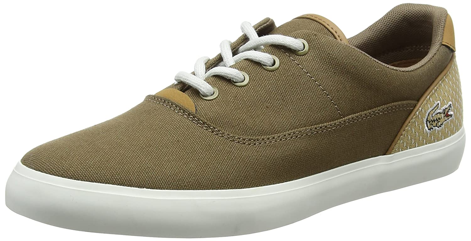 Mens Jouer Lace 118 1 Cam Trainers, Brown Lacoste