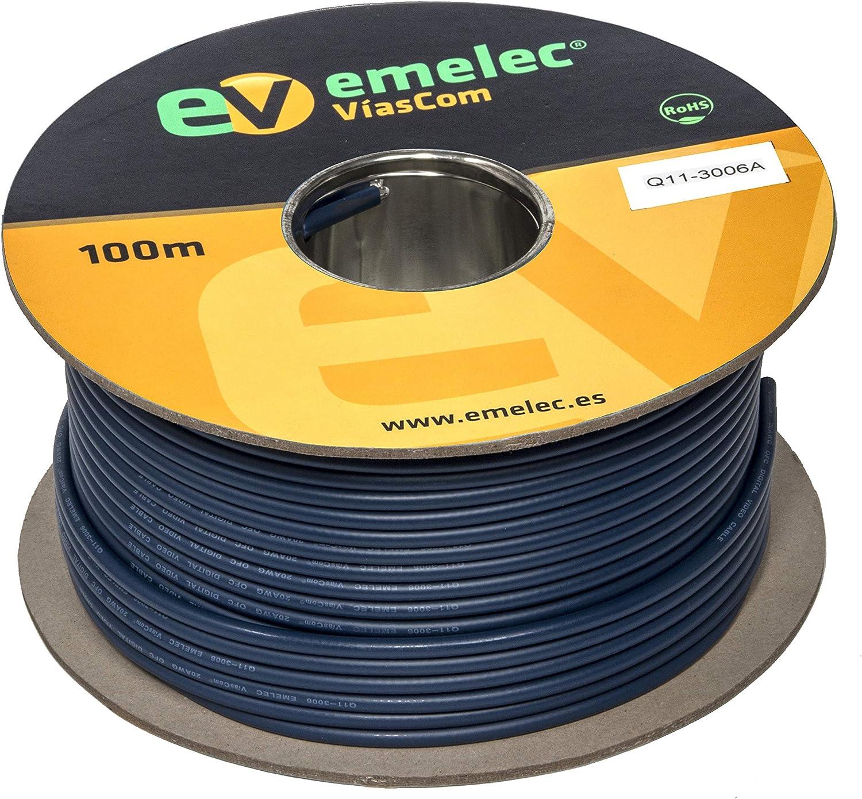 Emelec Víascom Q11 3006 Videokabel 4k 12g Sdi 0 80 3 75 Elektronik