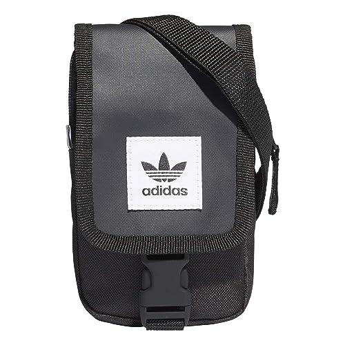 eeeea18114 adidas MAP BAG, Unisex Adults' Cross-Body Black (Negro), 24x15x45 cm ...