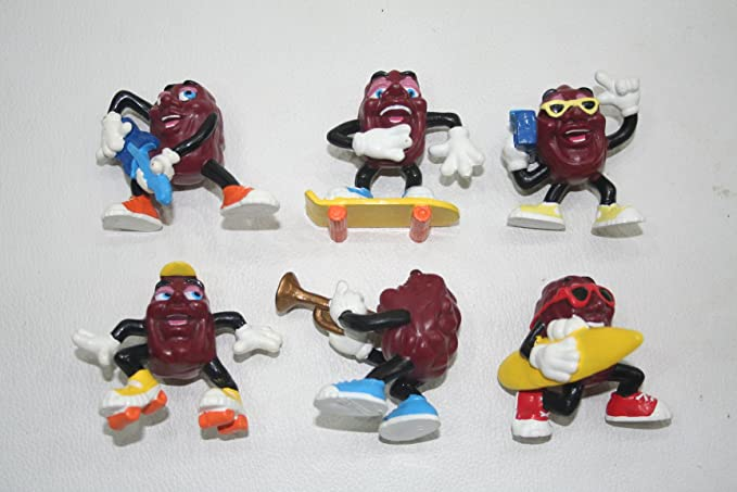 THE CALIFORNIA RAISINS 1987 Playing Card Game VTG sets MADE in USA