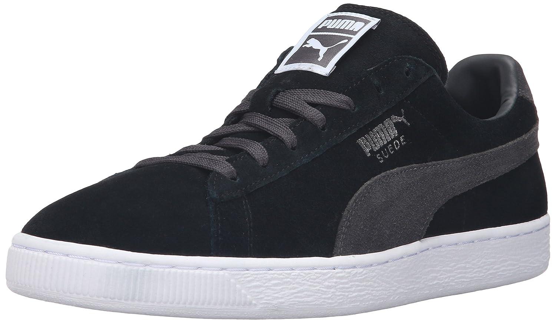Puma Suede Classic+, Herren High-Top Sneaker  40.5 EU Puma Black/Dark Shadow