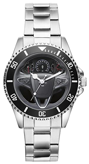 Regalo para Opel Insignia Fan Conductor Kiesenberg Reloj 10073: Amazon.es: Relojes