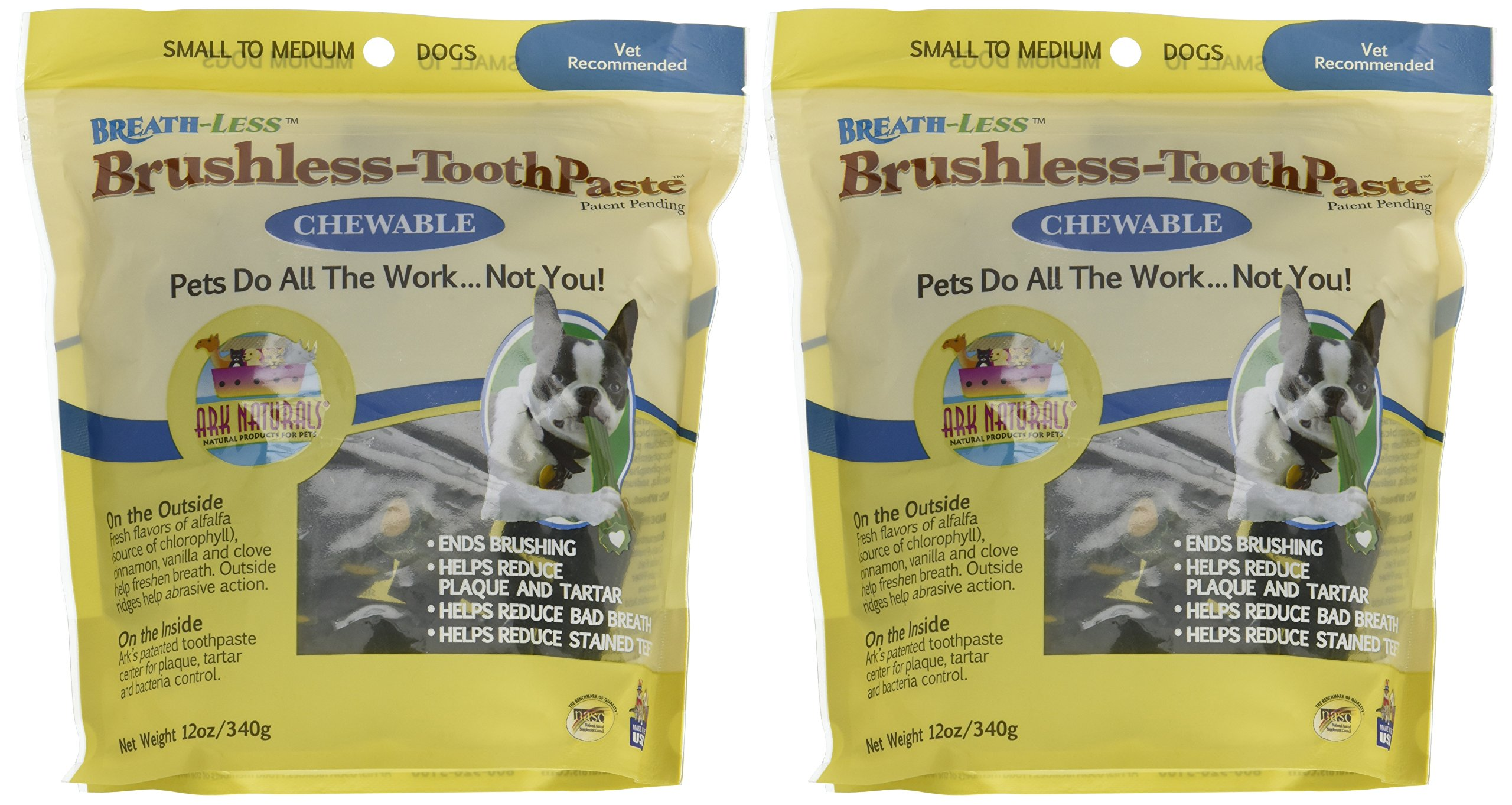 ARK NATURALS Breath-Less Brushless Toothpaste - 12 oz Pack of 2 by ARK NATURALS (Image #2)