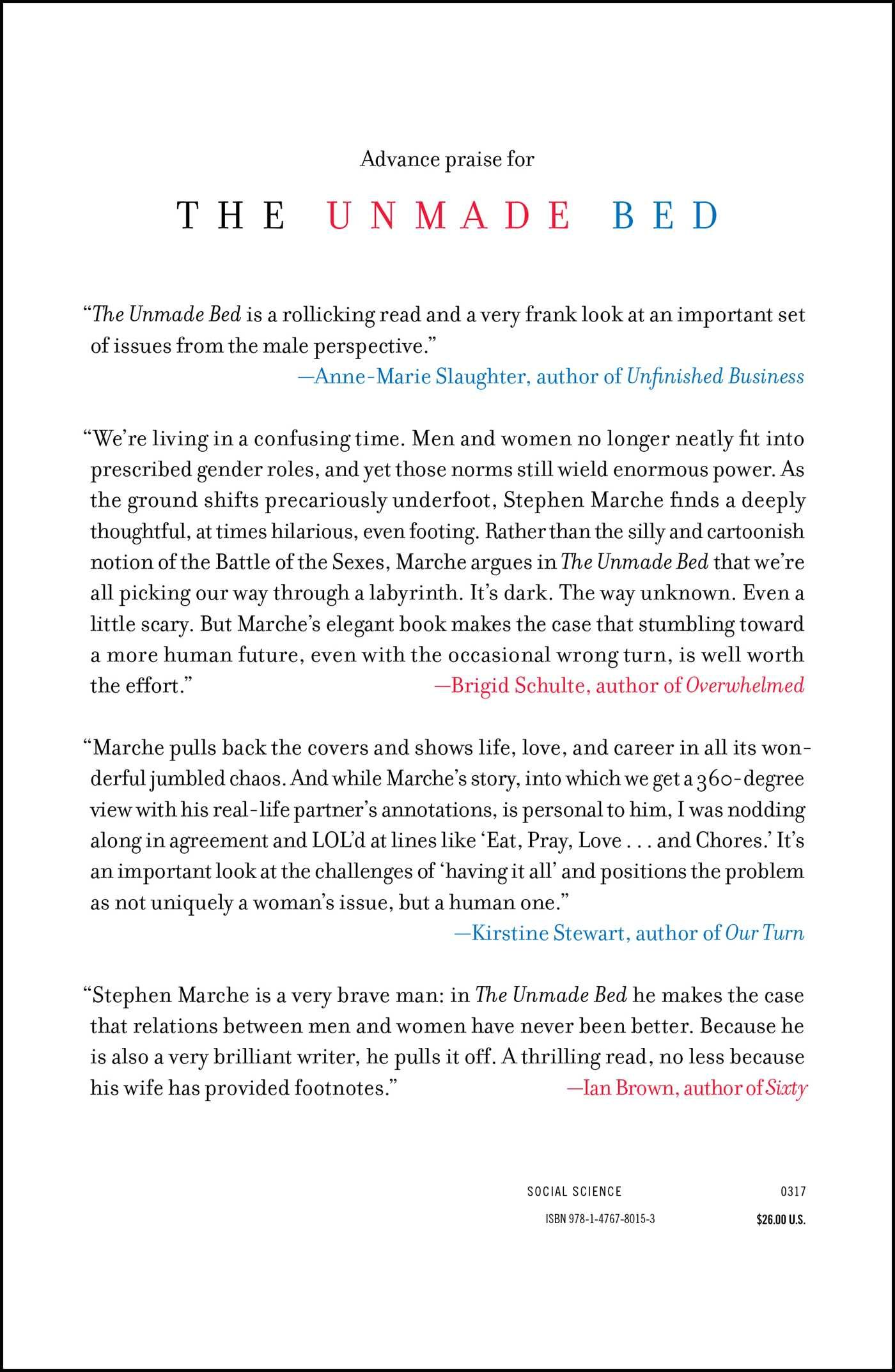 Amazon: The Unmade Bed: The Messy Truth About Men And Women In The 21st  Century (9781476780153): Stephen Marche, Sarah Fulford: Books