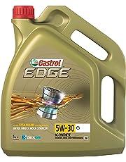 Castrol 52605 Edge mit Fluid Titanium Technologie 5W-30 C3, 5 Liter