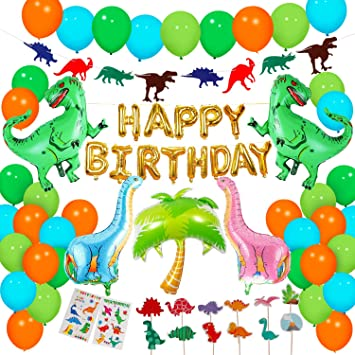 Dinosaure Anniversaire Décorations de Fête, Dino fête