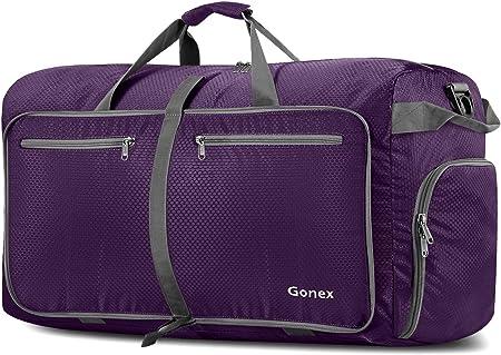 side facing gonex 100l duffel bag for gym