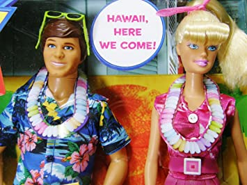 Disney W1493 Toy Story Barbie And Ken Hawaiian Vacation Doll Giftset