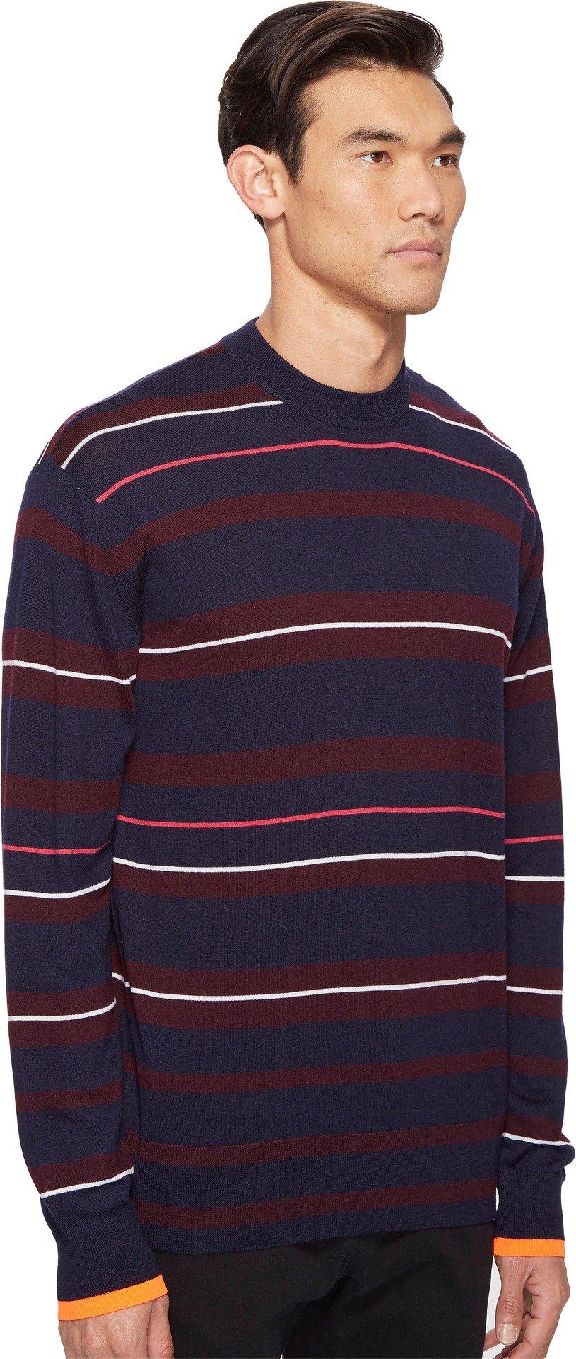 McQ  Men's Fine Stripe Sweater Port Medium by McQ (Image #2)