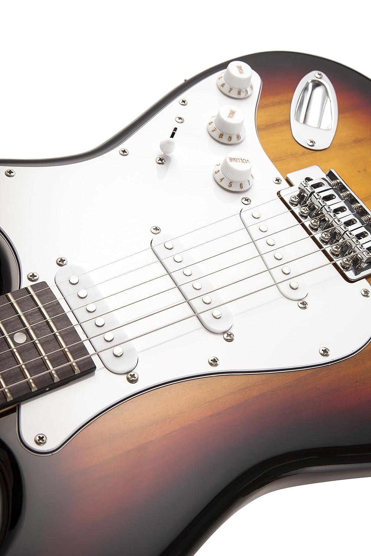 RockJam RJEG01-SK-SB - Guitarra eléctrica: Amazon.es: Instrumentos musicales