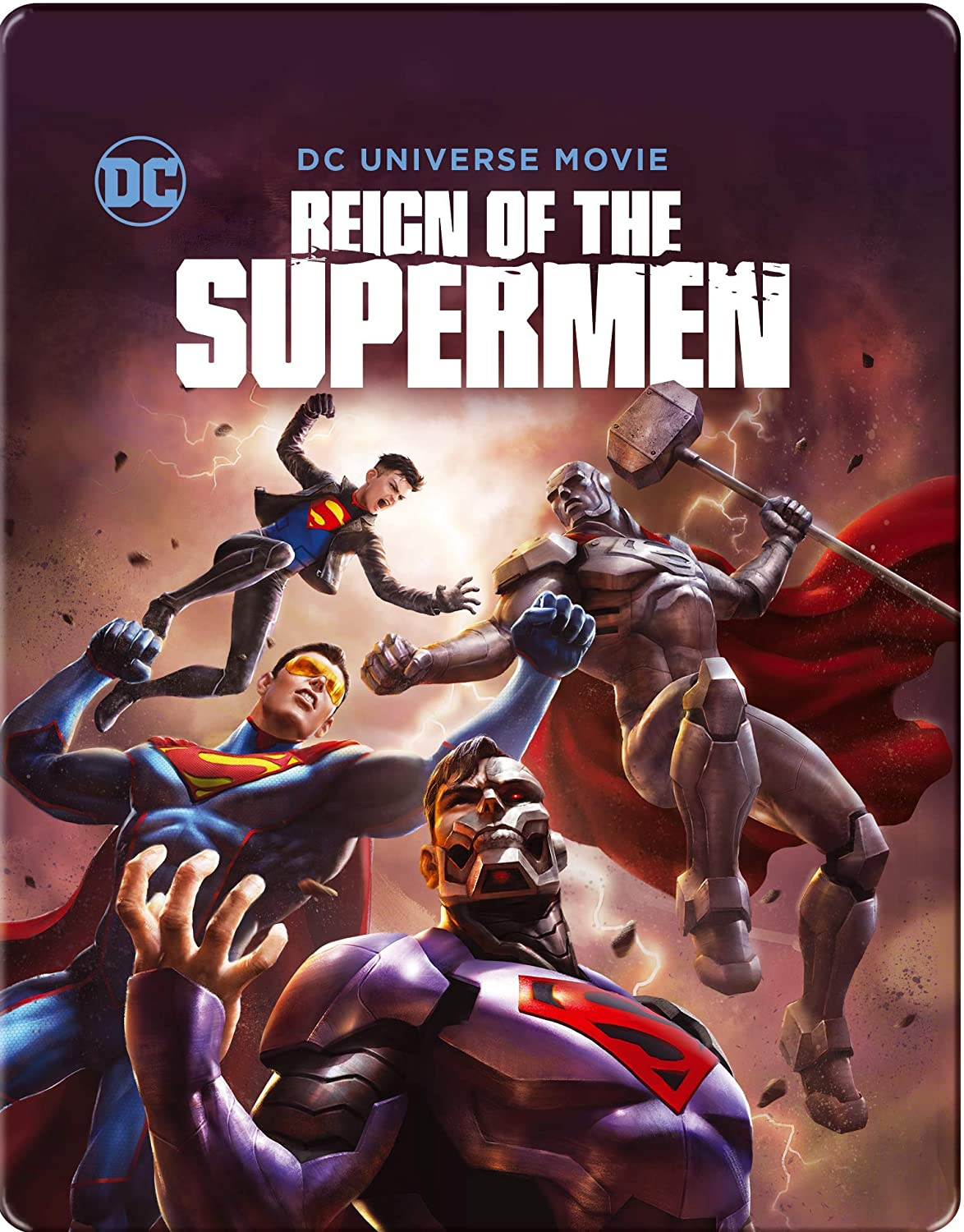 Reign Of The Supermen Steelbook Edizione: Regno Unito Italia ...