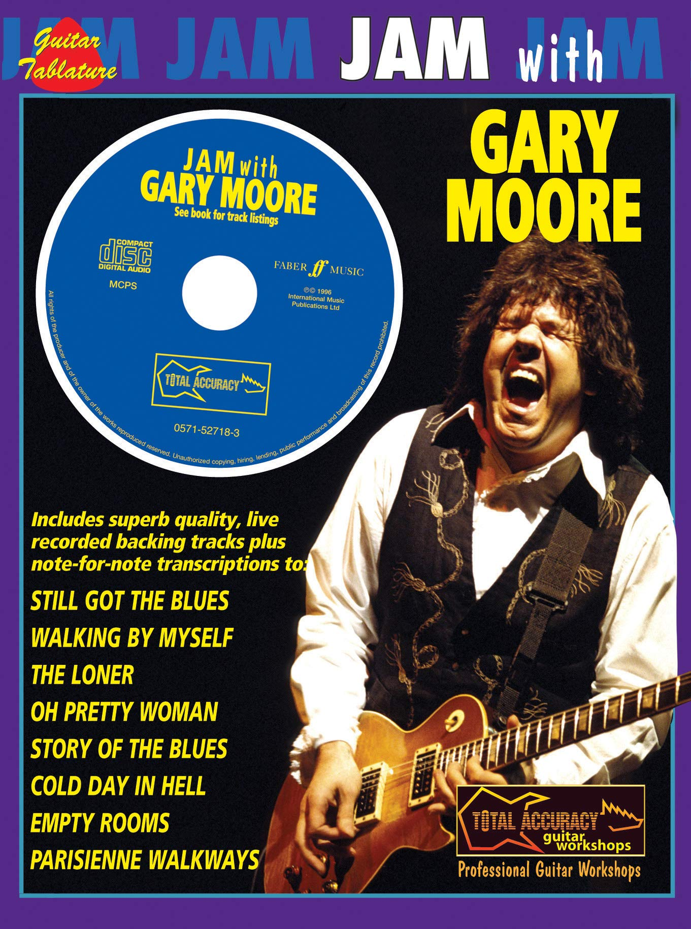 Jam With Gary Moore: (Guitar Tab): Amazon.es: Moore, Gary: Libros ...