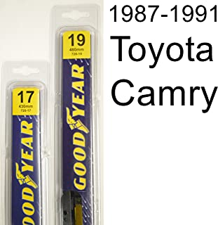 """product image for Toyota Camry (1987-1991) Wiper Blade Kit - Set Includes 19"""" (Driver Side), 17"""" (Passenger Side) (2 Blades Total)"""