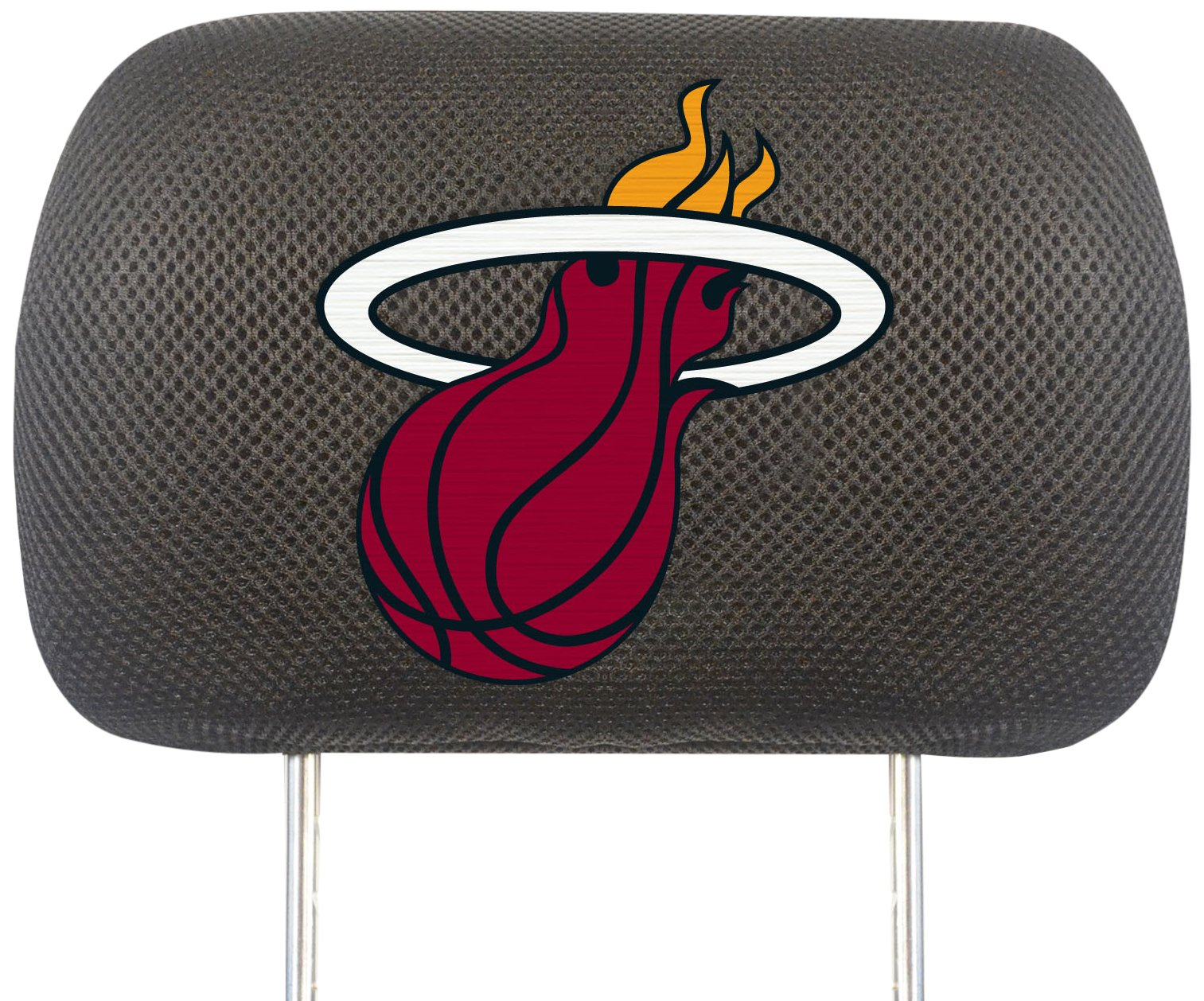 Fanmats NBA Miami Heat Polyester Head Rest Cover by Fanmats