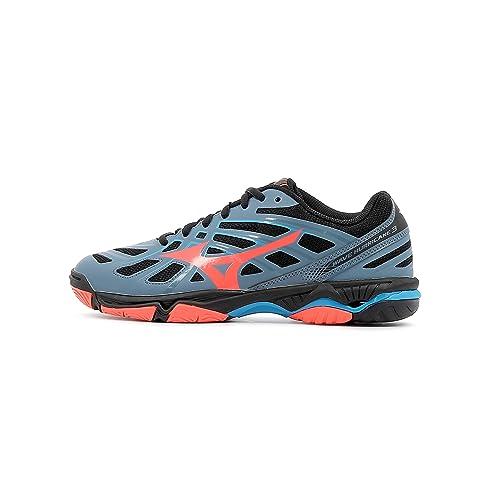 Mizuno Wave Hurricane 3, Zapatillas para Mujer: Amazon.es: Zapatos y complementos