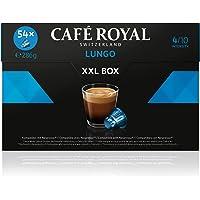 Café Royal Lungo 54 Capsules de café compatibles avec le système Nespresso*, Intensité 4/10