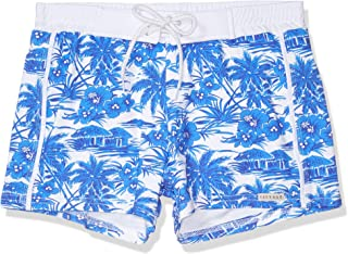 product image for Sauvage Men's Italian Retro Printed Swim Trunk