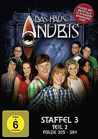 Das Haus Anubis Staffel 3 Teil 2 Folge 305 364 4 Dvds Amazon De