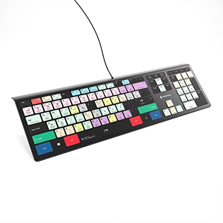 Vegas Pro Keyboard – Teclado de edición de vídeo retroiluminado – Última versión para Magix Vegas, Sony Vegas