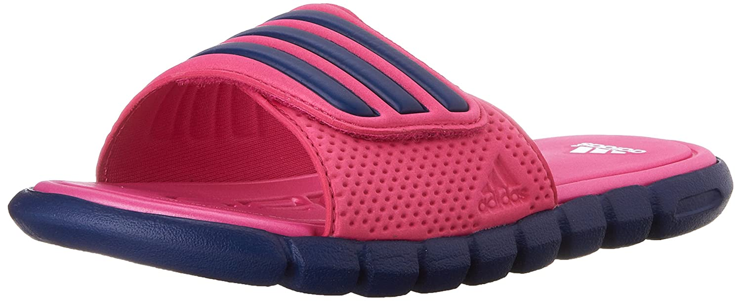 8578d4ce585 adidas Performance Adilight SC XJ Slide Sandal (Little Kid Big Kid) Pink Raw  Purple White 3 M US Little Kid  Buy Online at Low Prices in India -  Amazon.in