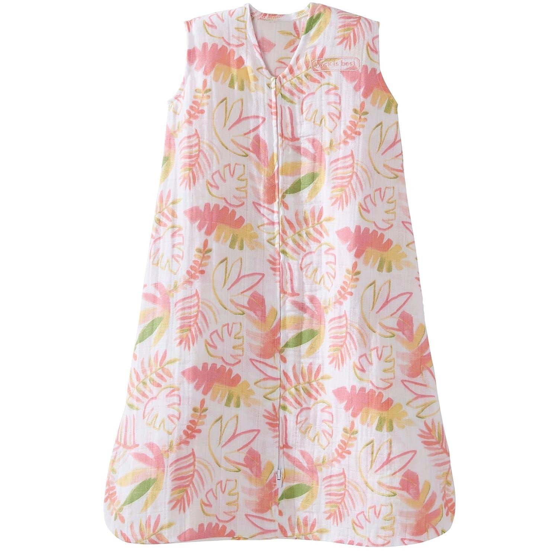 Medium Pink Chevron HALO 100/% Cotton Muslin Sleepsack Wearable Blanket