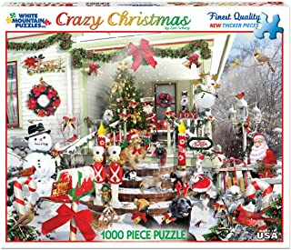 product image for White Mountain Puzzles Crazy Christmas - 1000 Piece Jigsaw Puzzle