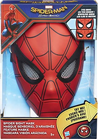 Máscara Man De Marvel Homecoming Spider Visión zMVpSU