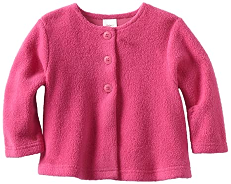 Amazon.com: Zutano Baby Girls' Cozie Swing Jacket: Infant And ...