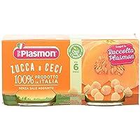 Plasmon Omogeneizzato di Verdure, Zucca e Ceci - 24 Vasetti da 80 gr