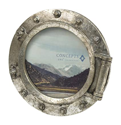 Amazon.com - Concepts Resin Porthole Style Picture Frame Nautical ...