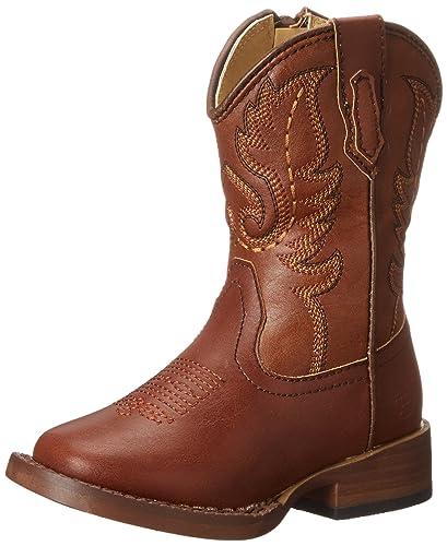 2b1cf88ffb4 Roper Texson Square Toe Classic Cowboy Boot (Toddler/Little Kid)